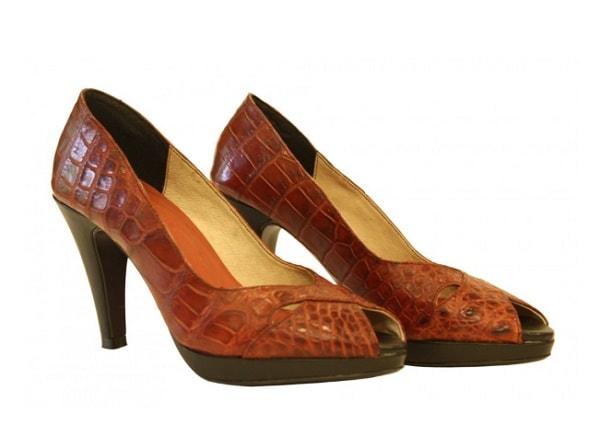 Giày Cao Gót Da Cá Sấu Thời Trang Nữ Cực Chất | Thử Ngay