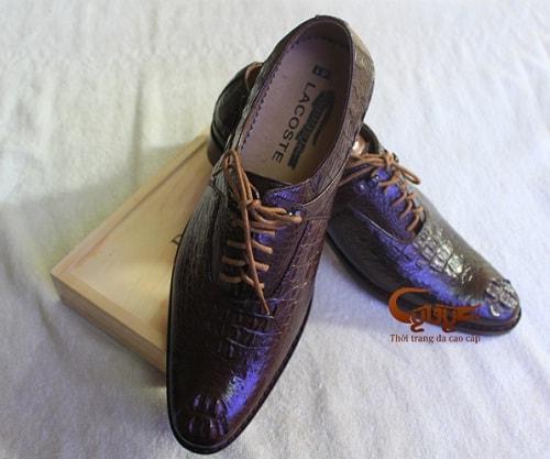 Giày Tây Nam Da Cá Sấu Sang Trọng, Lịch Lãm | Mua Ngay