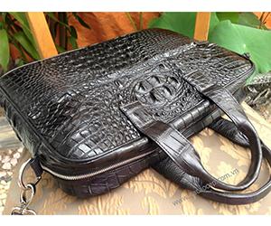Cặp táp da cá sấu xịn