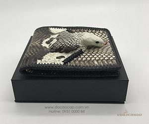 Ví nam da rắn hổ nhập khẩu Thailan