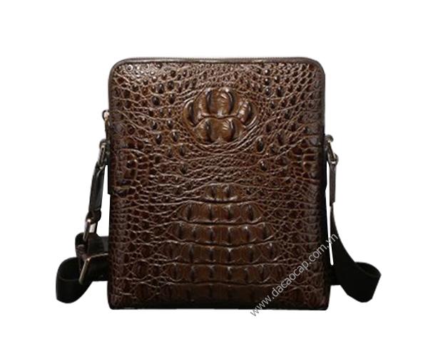 Túi đựng ipad da cá sấu xịn