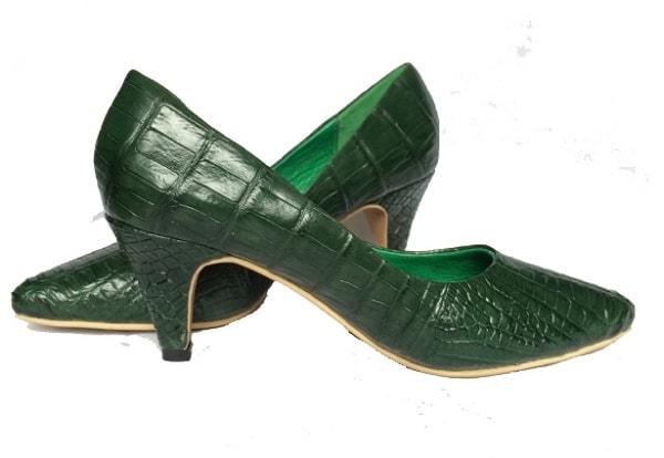 Giày Cao Gót Da Cá Sấu Thời Trang Nữ Siêu Đẹp   Thử Ngay