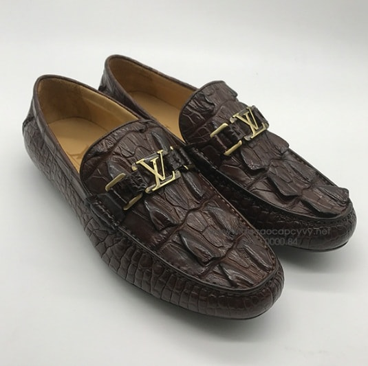 Giày Da Cá Sấu Sài Gòn Kiểu Dáng Đẹp Nhất   Xem Ngay